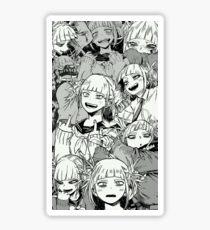 Toga best waifu Sticker