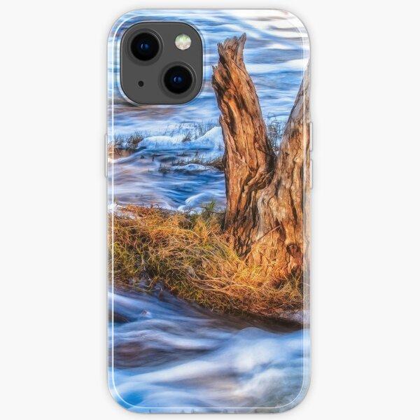 Rustic Island, Noble Falls iPhone Soft Case