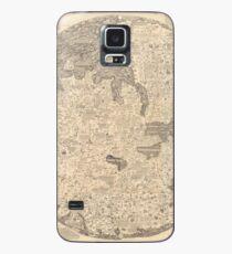 Fra Mauro's Mappa Mundi 1450 Case/Skin for Samsung Galaxy
