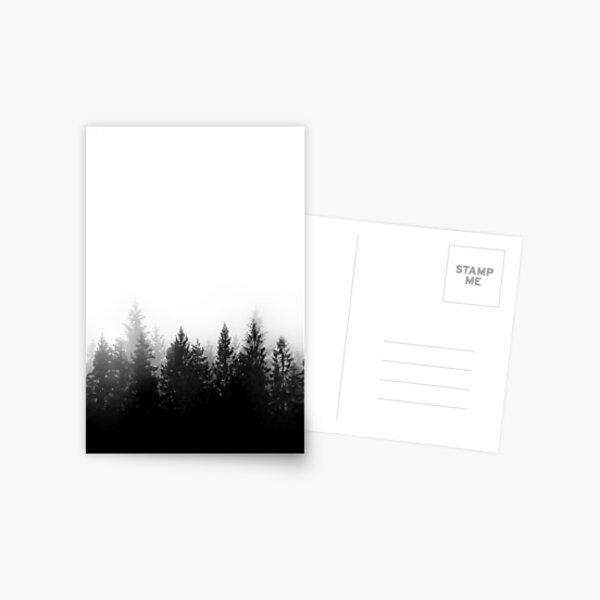 Scandinavian Forest Postcard