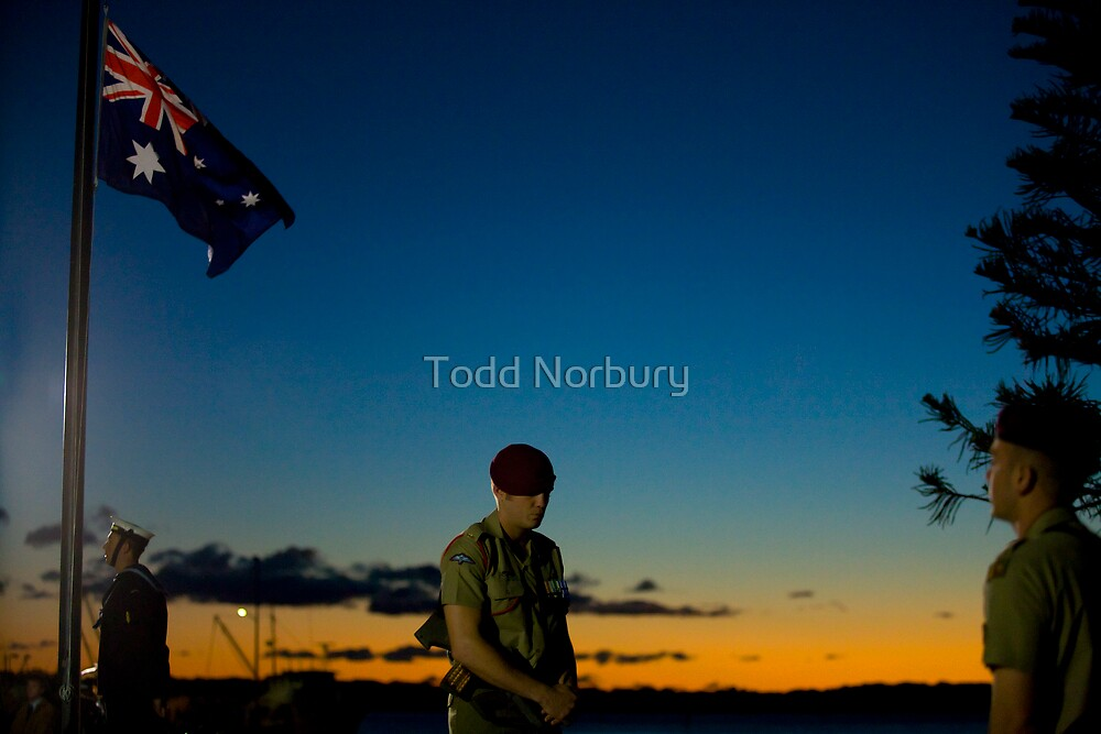 ANZAC Image #1 by Todd Norbury