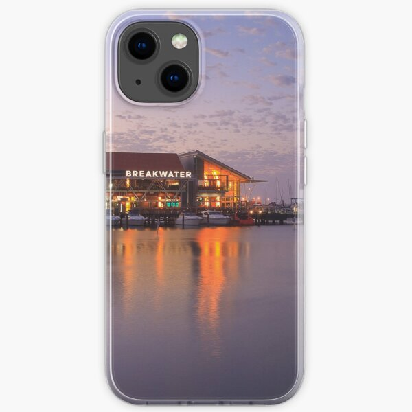 Harbour Lights, Hillarys Boat Harbour iPhone Soft Case