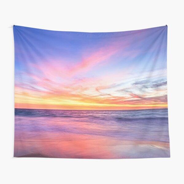 Aussie Sunset Claytons Beach Mindarie Tapestry