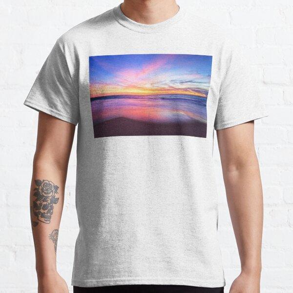 Aussie Sunset Claytons Beach Mindarie - Clothing Classic T-Shirt