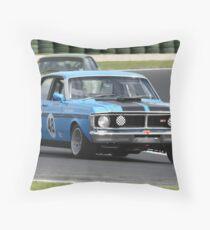 Blue GTHO Throw Pillow