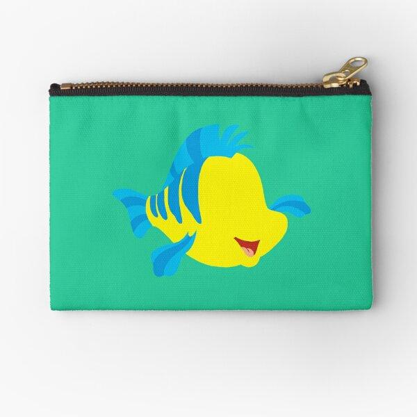 Scaredy Fish Zipper Pouch