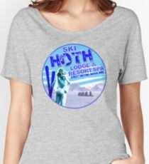 Hoth Lodge Women's Relaxed Fit T-Shirt