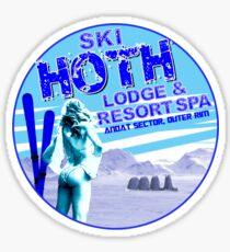Hoth Lodge Sticker
