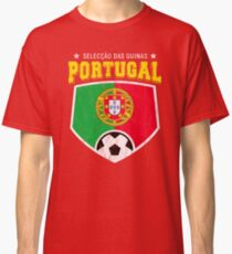 2018 Portugal Football World Soccer Cup Classic T-Shirt