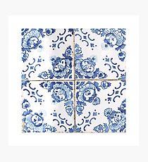 Portuguese Azulejos VIII Photographic Print