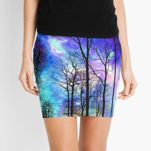 The purple sky Mini Skirt
