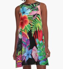 Hawaiian beauty A-Line Dress