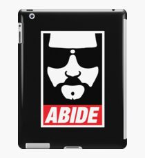 The Dude Abides Abide iPad Case/Skin