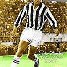 JOHN CHARLES JUVENTUS LEEDS UNITED SOCCER CALCIO FOOTBALL STAR SUPER COOL POSTER by westox