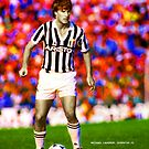 MICHAEL LAUDRUP JUVENTUS BARCELONA REAL MADRID DENMARK FOOTBALL SUPER COOL POSTER by westox