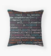 source code Throw Pillow