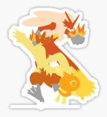 Torchic Evolution Sticker