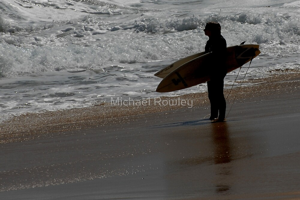 Surfers by Michael Rowley