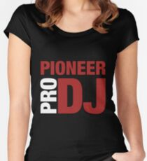 Pioneer DjPro Women's Fitted Scoop T-Shirt