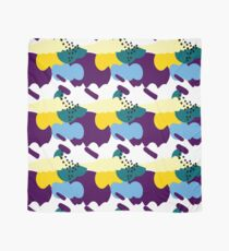 Up In The Clouds - Yellow, Purple and Blue Scarf