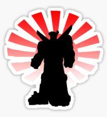 Rising Sun Sticker