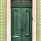 Green Door Lisbon Souvenirs by for91days