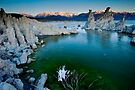 Mono Lake Crack of Dawn by photosbyflood
