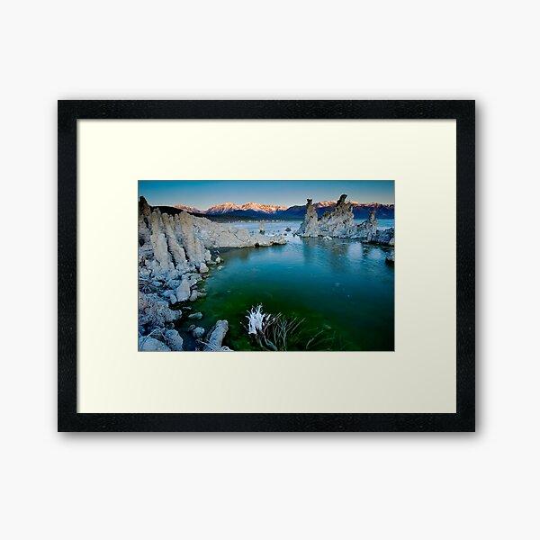 Mono Lake Crack of Dawn Framed Art Print