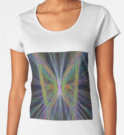 Linify Motley butterfly Premium Scoop T-Shirt