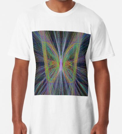 Linify Motley butterfly Long T-Shirt