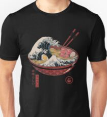 Great Ramen Wave Unisex T-Shirt