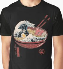 Great Ramen Wave Graphic T-Shirt