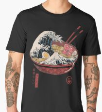 Great Ramen Wave Men's Premium T-Shirt