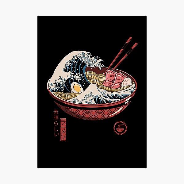 Great Ramen Wave Photographic Print