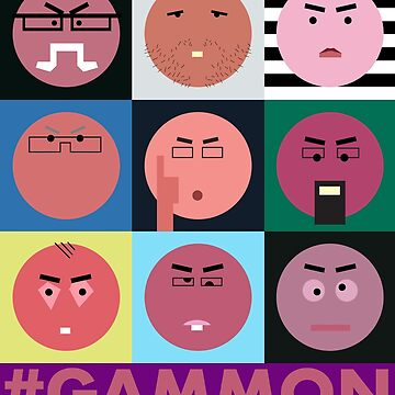 #GAMMON - HASHTAG GAMMON - WALL OF GAMMON by CliffordHayes
