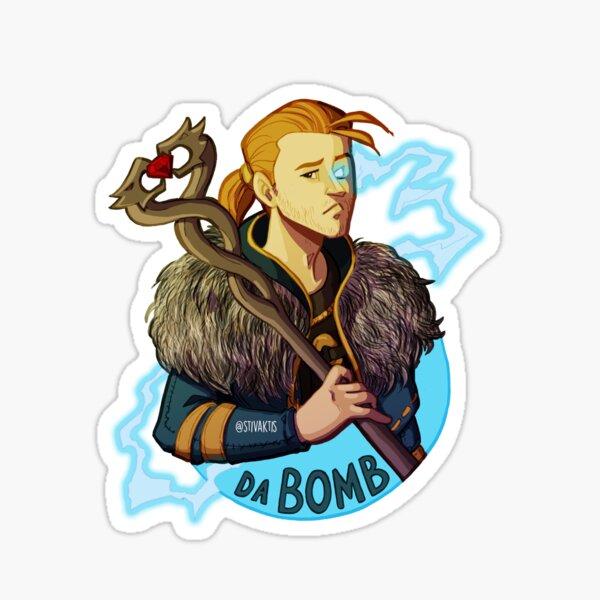 Anders is da bomb Sticker