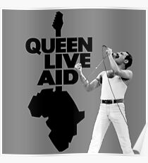 Queen Live Aid Poster