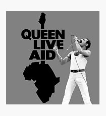 Queen Live Aid Photographic Print