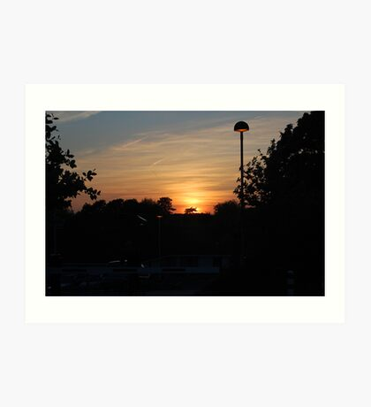 Another Southmead Sunset Art Print