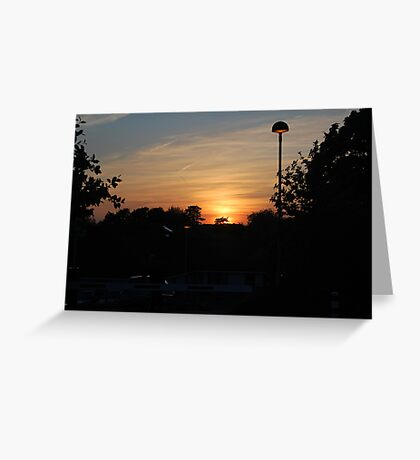 Another Southmead Sunset Greeting Card