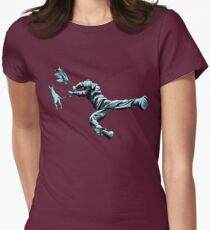 Severe Weather Warning Women's Fitted T-Shirt