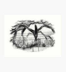 Will Drawing (Stranger Things 2) Art Print