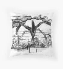 Will Drawing (Stranger Things 2) Throw Pillow