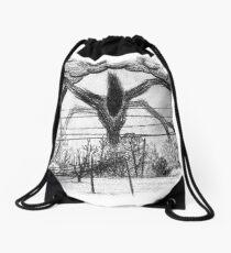 Will Drawing (Stranger Things 2) Drawstring Bag