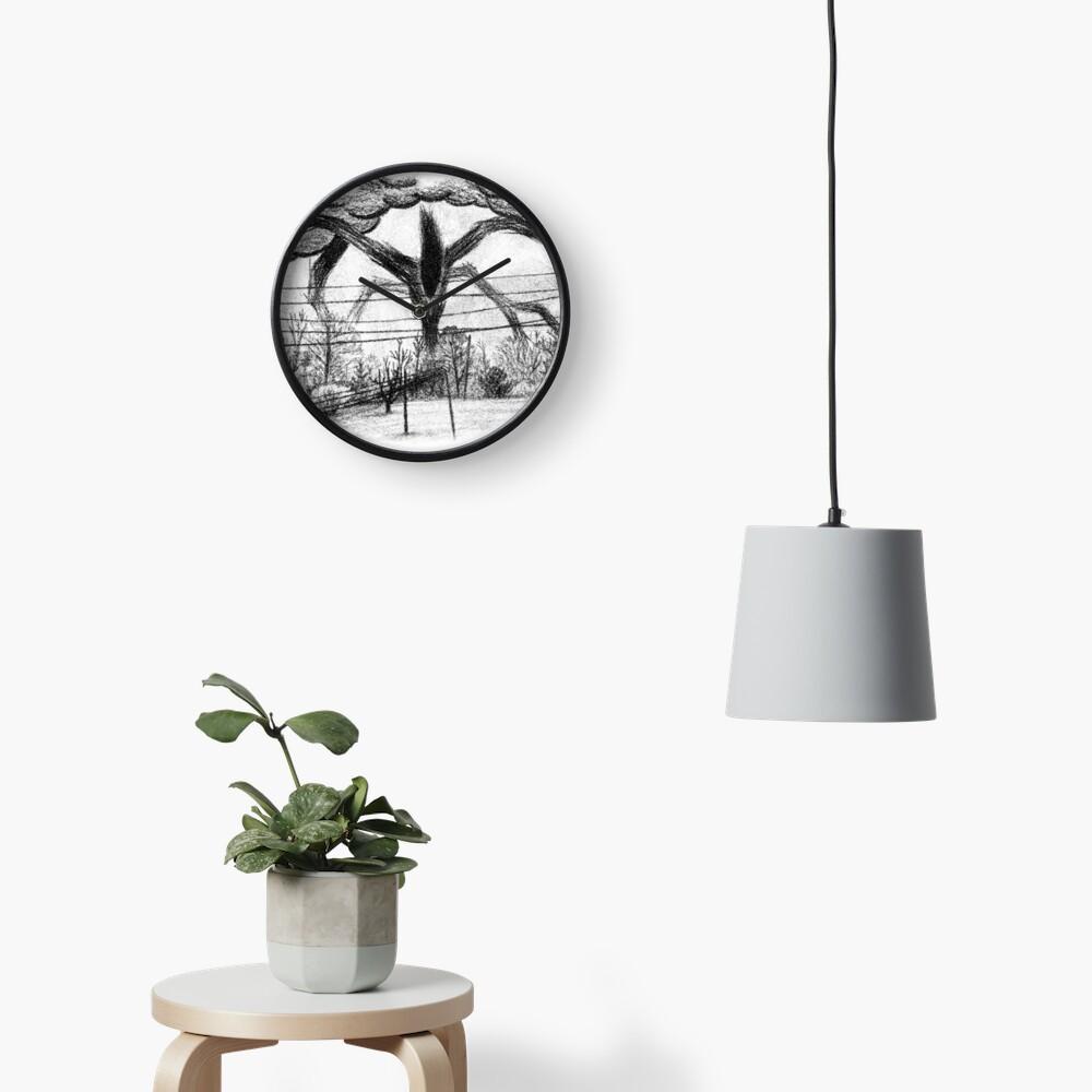 Will Drawing (Stranger Things) Clock