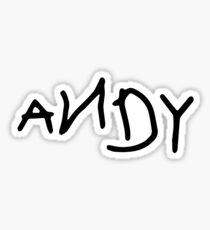 Pegatina Andy - Arranque de Woody - Toy Story