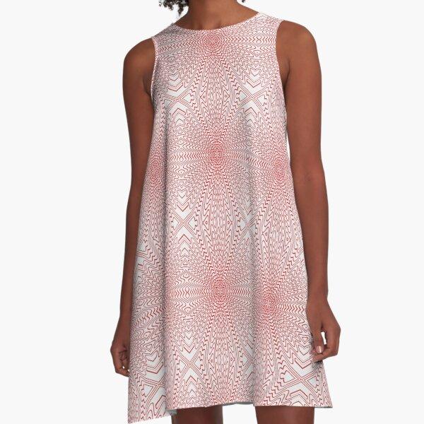 Wallpaper, #Wallpaper,  Pattern, #Pattern A-Line Dress
