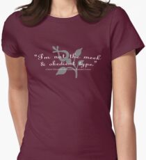 """I'm not the meek & obedient type."" T-Shirt"