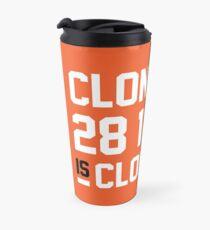 Cloneage Is Cloneage (Orange Ver.) Travel Mug
