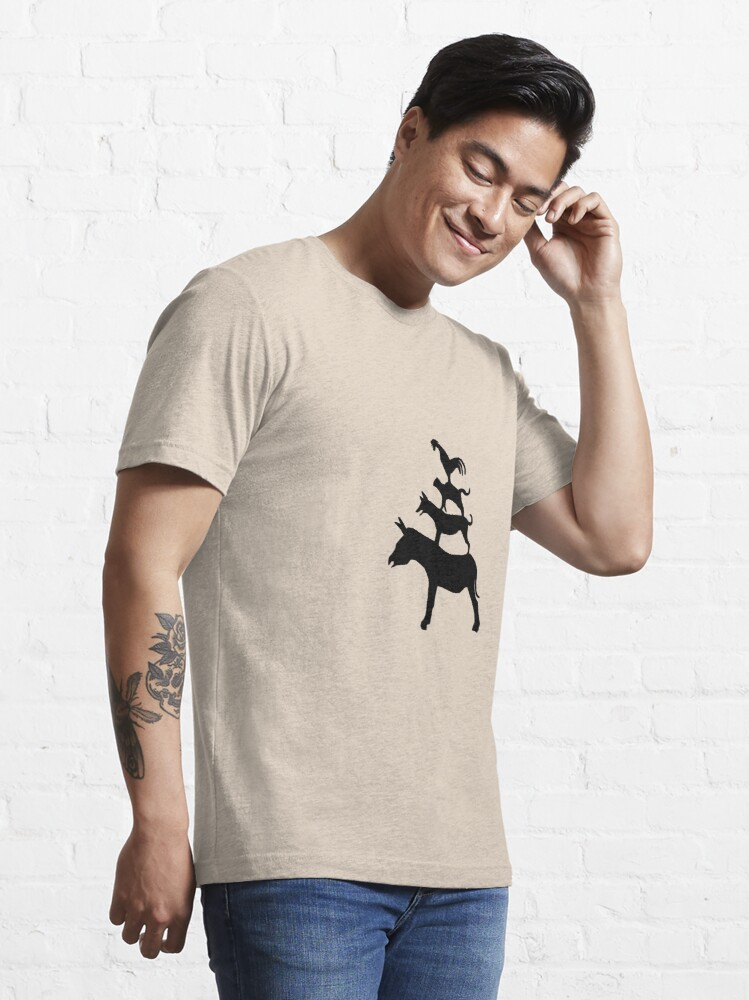 Alternate view of The Town Musicians of Bremen (Die Bremer Stadtmusikanten) - light tees Essential T-Shirt